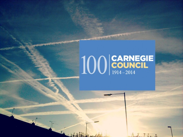 "Carnegie Wants to Spray Our Skies: ""Climate Geoengineering Governance Initiative"" Launched"