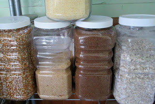 A Peek into an Organic Prepper's Pantry