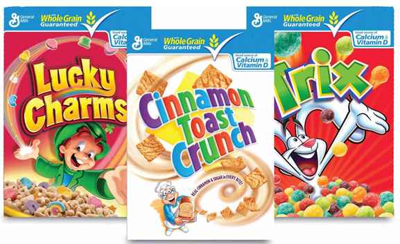 General Mills To Eliminate Artificial Colors and Flavors From All Cereals
