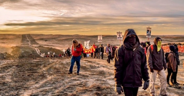 "Undeterred by Police Escalation, DAPL Opponents ""Reclaim"" New Frontline"