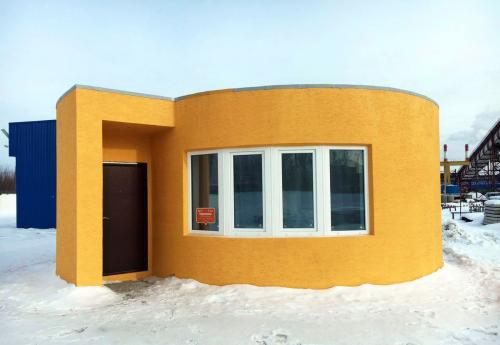 Russian Company 3D Printed Home in Just 24 Hours for $10,000