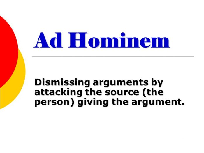 Ad Hominem Attacks, Libel and the Power of Ignorance   (and the Dangers of Trusting Disreputable Online Fact Checkers)
