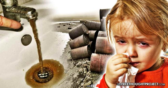 Damning Report: Pentagon Actively Poisoning Millions of American Water Supplies