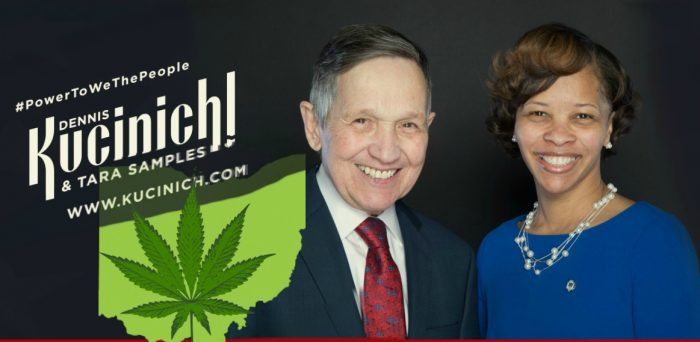 Ohio Gov. Candidate Dennis Kucinich Announces Plan To Legalize Medical, Recreational Marijuana