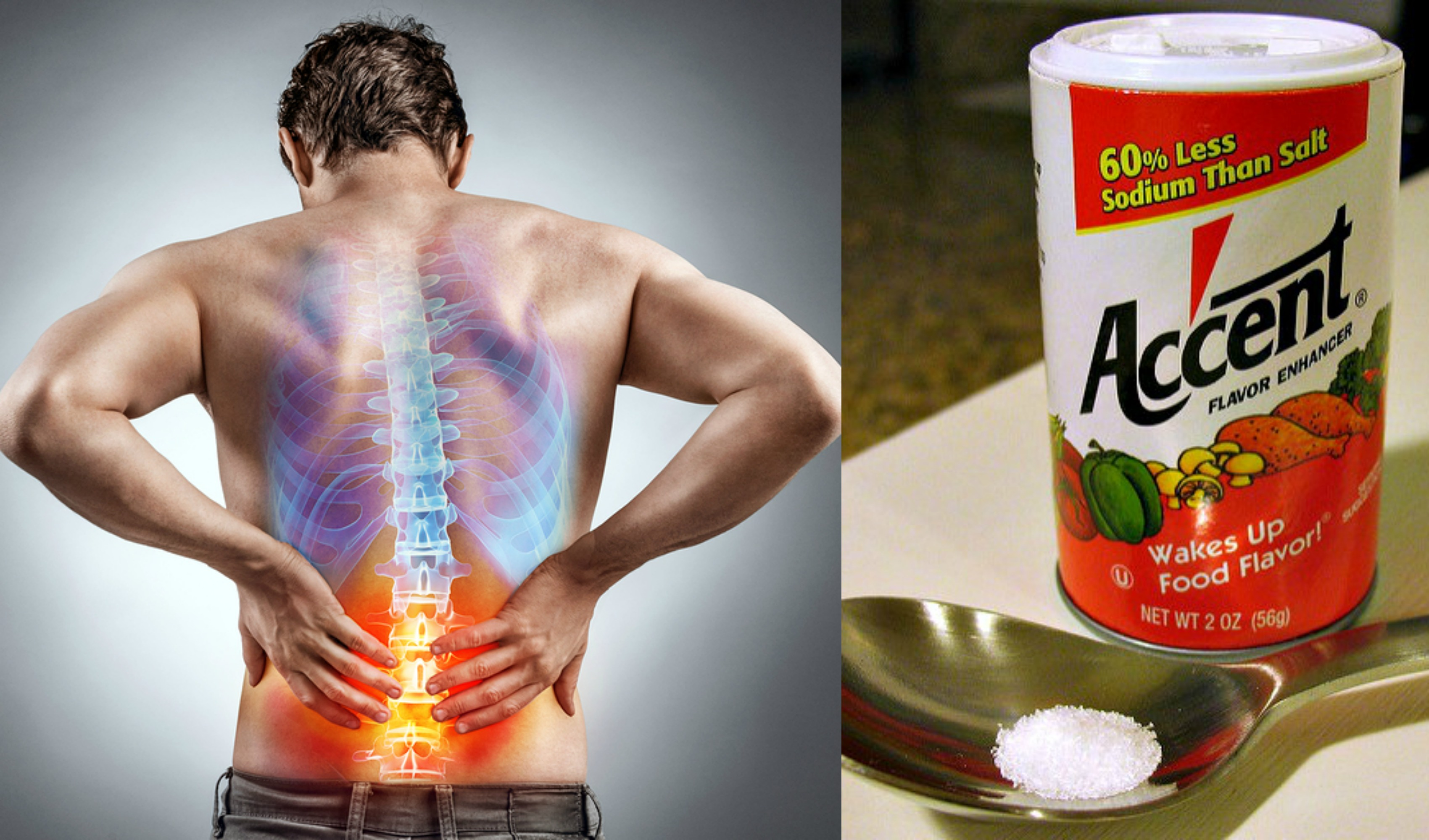 natural pain relief msg pain