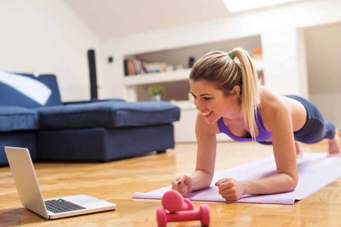 The Only Way to Find Your Fitness Groove At Home