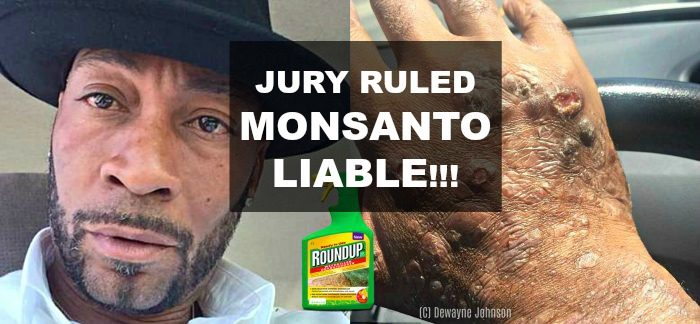 Jury Ruled Monsanto Liable in Case of Man Dying of Cancer After Using Weedkiller