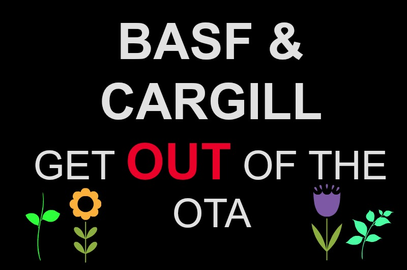 Tell the Organic Trade Association: BASF and Cargill Do Not Belong