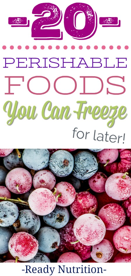 You likely already keep a supply of basics like vegetables, fruits, meats, poultry, and grains in your freezer. However, there some items that can be frozen that might surprise you.