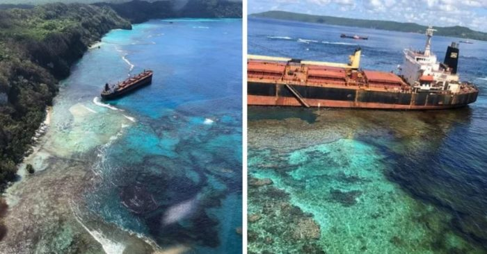 Over 600 Tons of Leaked Oil Expected to Ruin Heritage-Listed Solomon Islands Reef