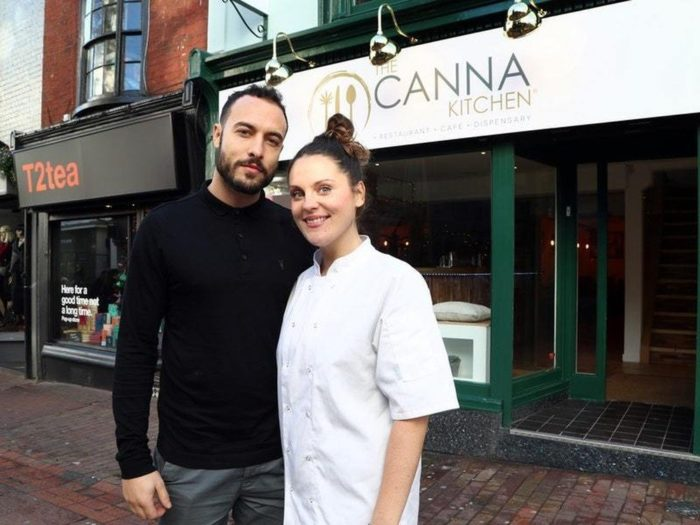 UK's First Vegan And Vegetarian CBD-Infused Restaurant Opens In Brighton