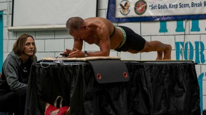 62-Year-Old Man Breaks World Planking Record By Holding It For 8 Hours